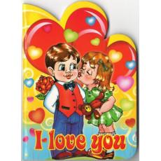Блокнот С6 (I love you) VK-005