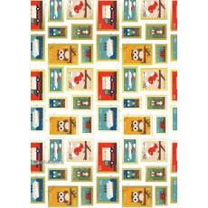 Бумага упаковочная детская (Марки) Ed-N-275