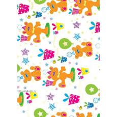 Бумага упаковочная детская (Мишка) Ed-N-277