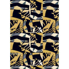 Бумага (меловка) упаковочнаяc (абстракция) Ed-N-352m