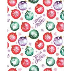 Бумага упаковочная новогодняя (Merry Christmas) 31-Ed-N-459
