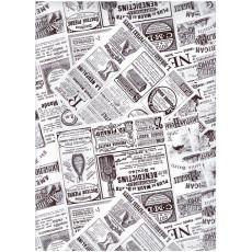 Бумага упаковочная меловка (Газета) Ed-N-243