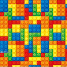 Бумага упаковочная детская (Лего) Ed-N-406