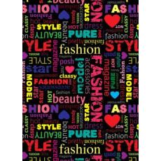 Бумага (меловка) упаковочная (Fashion) Ed-N-064m