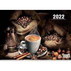 Квартальный  календарь на 3-x спиралях на 2022 год  EX-3BG22-22
