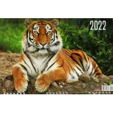 Квартальный  календарь на 3-x спиралях на 2022 год  EX-3BG22-10