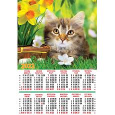 Календарь-плакат Котята на 2022 год Ex22-SK-05