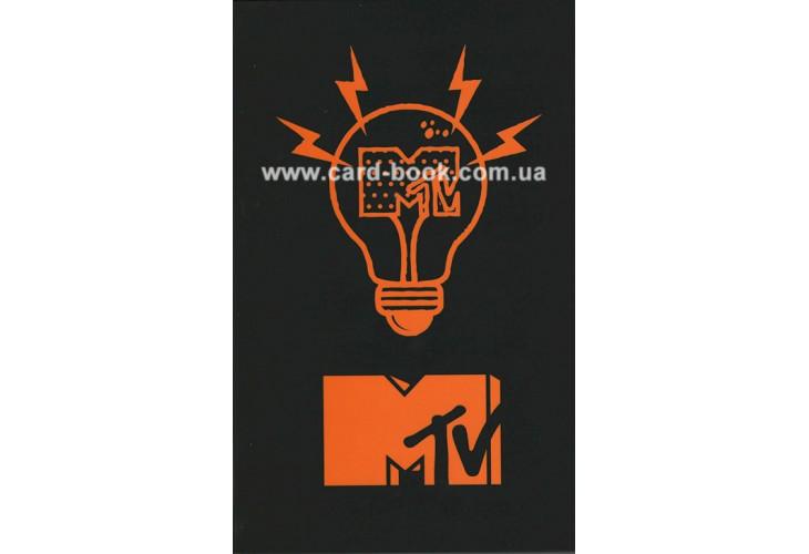 Блокнот для записей B6 на 80 листов. Клетка. Твердая обложка. MTV20-260-1