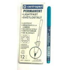 Маркер зеленый Centropen Permanent 1,0 мм Cen-2536gr