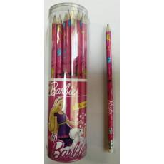 Карандаш чернографитный Barbie с резинкой  (KITE) B11-056WK