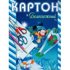"""Набор белого картона. 8 л. """"Белоснежный"""" BO-Kr-03"""