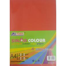 """Набор цветной бумаги """"пастель"""" формата А4 100 листов микс 10 цветов KI-1002"""