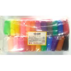 Набор Моделин для лепки 24 цвета в брусках KI-MD-01