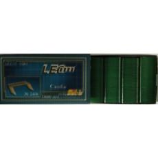 Скобы для степлера цветные №24/6 LEO-STAP-24GR