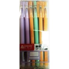 Ручка пишет-стирает гелиевая синяя AOD-3238