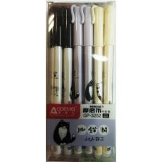 Ручка пишет-стирает гелиевая синяя AOD-3252