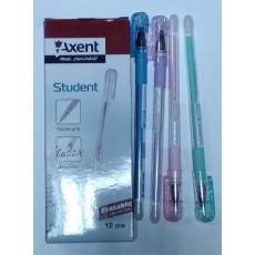 Ручка масляная синяя Axent-Student-AG1071