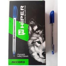 Ручка масляная синяя ACCORD Hiper-500-0.7bl