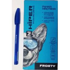 Ручка масляная синяя FROSTY Hiper-1155-0.6
