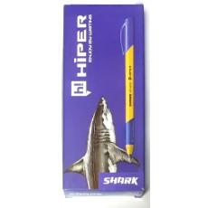 Ручка гелиевая синяя SHARK Hiper-HO-200