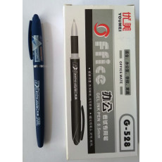 Ручка гелевая синяя Office JH-G-528-bl