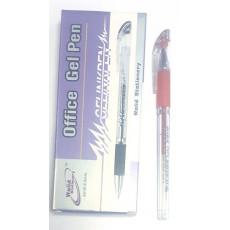 Ручка гелевая красная Office-601B
