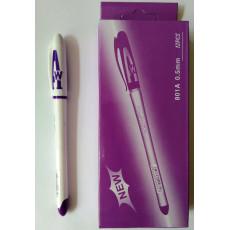 Ручка гелевая фиолетовая P-801-A
