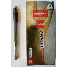 Ручка гелевая золото Trigel-UX-131-35