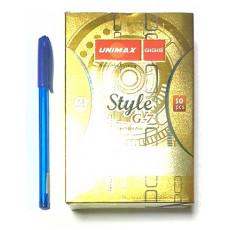 Ручка шариковая синяя UNIMAX UX-102-02