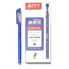 Ручка пишет-стирает гелиевая синяя AOD-3278