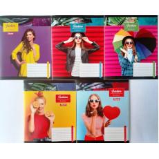 "Тетрадь на 18 л. Линия. ""Fashion woman"" 1 вересня (YES) 1B-763936"