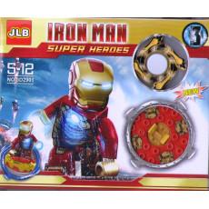 Набор SUPER HEROES IRON MAN ZZ-3D2901