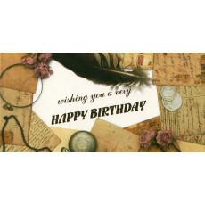 "Конверт ""Happy Birthday!"" AL-RL-08"