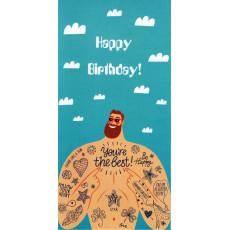 "Конверт ""Happy Birthday!"" AL-RL-76"
