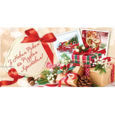 Конверт «З Новим роком та Різдвом Христовим!» 31-ED-KV-1108Y