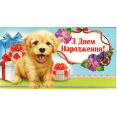 """Конверт детский """"З Днем Народження!"""" EX-KNV-00200y"""