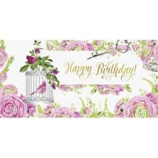 "Конверт женский ""Happy Birthday"" Rd-01-340"