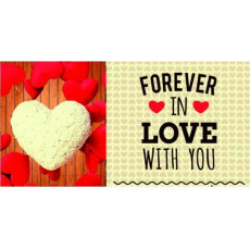 """Конверт женский """"Forever in LOVE WITH YOU!"""" Rd-01-354"""