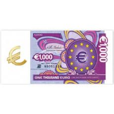 """Конверт деньги """"1000 E"""" Rd-01-385"""