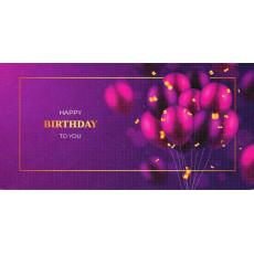 """Конверт """"Happy Birthday!"""" CR-S-20"""