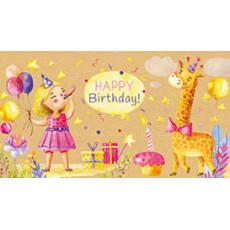 Конверт детский «Happy Birthday!» sp-12.981