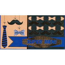 Конверт для денег (фольга) мужской «Super Men!» sp-12.5003
