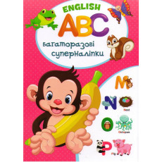 English ABC Багаторазові Суперналіпки Kr-0-5