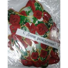 """Гирлянда """"С Днем Рождения"""" (розы) ED-G-010"""