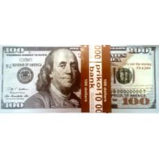 Набор сувенирных денег для проведения свадебных конкурсов  DN-D100