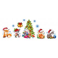 Набор для Новогоднего украшения/декора Et-H-006