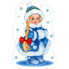 """Плакат вырубка новогодний """"Снегурочка"""" SP-74.025"""
