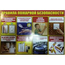 """Плакат """"Правила пожарной безопасности"""" SP-P-079r"""