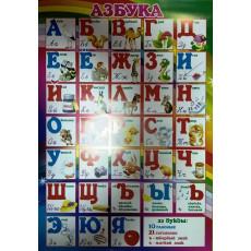 """Плакат """"Азбука"""" UA-PL-0009r"""