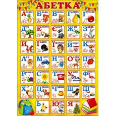 """Плакат """"Абетка"""" SP-P-217"""